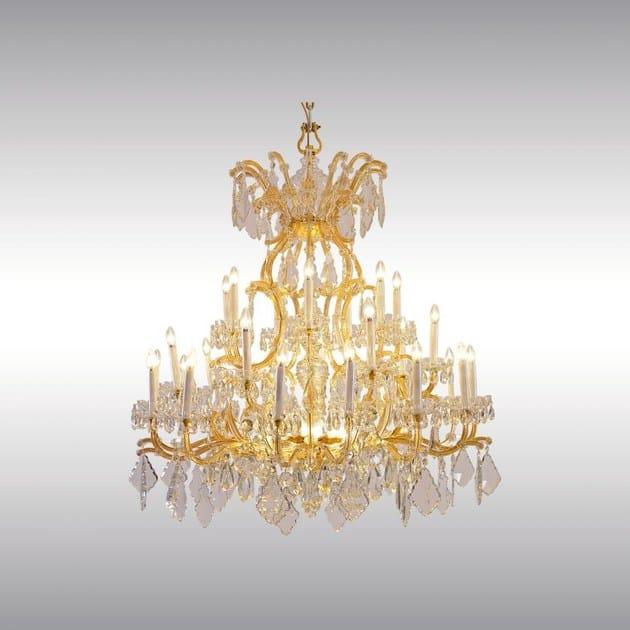 Stile Chandelier Woka Lobmeyr Lampadario Vetro In Lamps Classico Magnificent Vienna Ferro E Ivbf67gyY