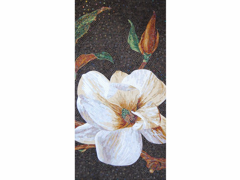 Stained glass mosaic MAGNOLIA B by FRIUL MOSAIC