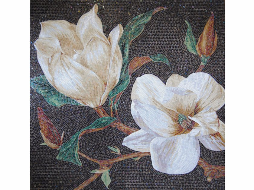 Stained glass mosaic MAGNOLIA by FRIUL MOSAIC