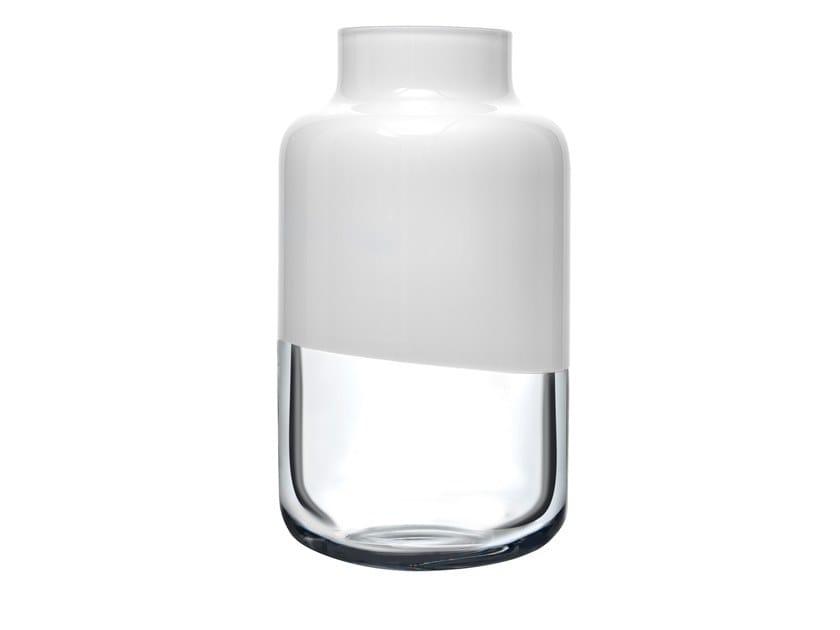 Crystal vase MAGNOLIA MEDIUM by NUDE