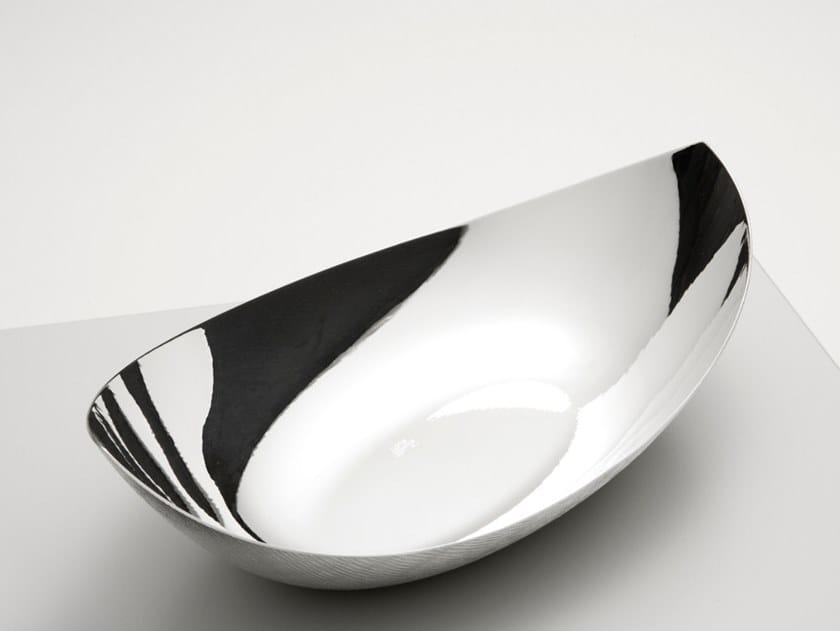 Silver bowl MAGNOLIA by ZANETTO
