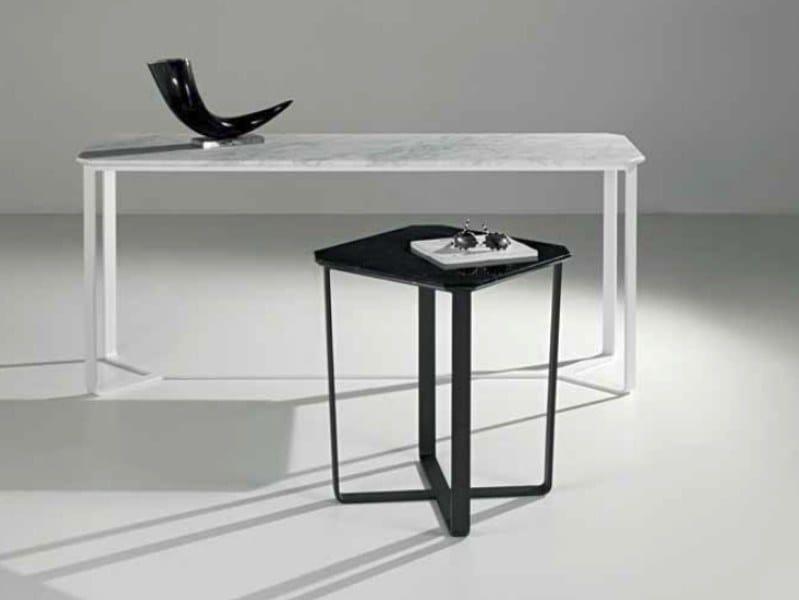 Square marble coffee table MAGOO | Square coffee table by International Marmi