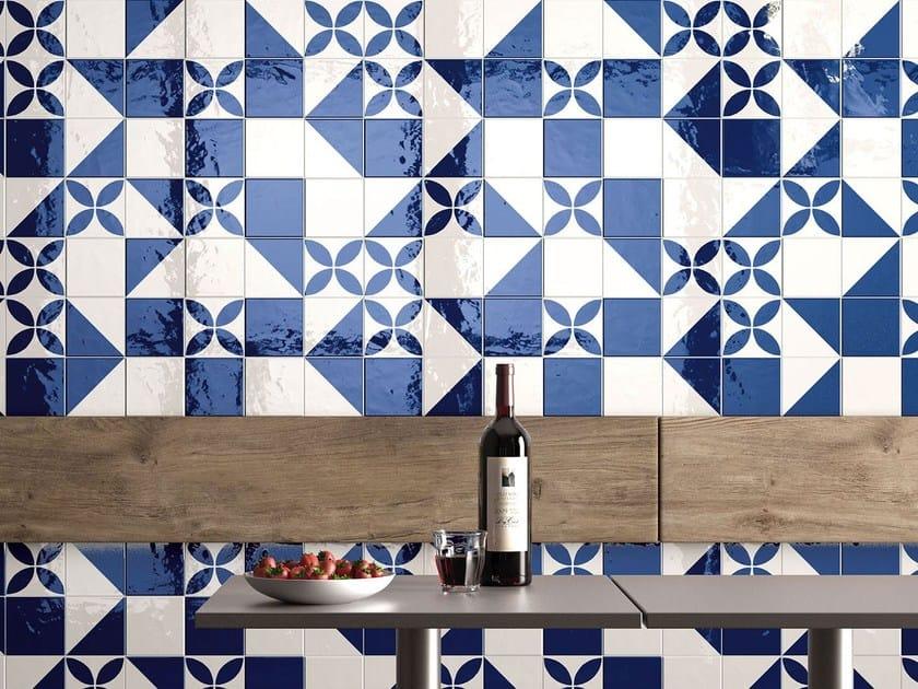 Porcelain stoneware wall/floor tiles MAIOLICA - BIANCO Maiolica ...