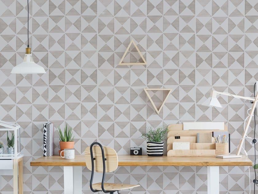 Fire retardant Digital printing wallpaper MAIOLICHE by NANNI GIANCARLO & C.