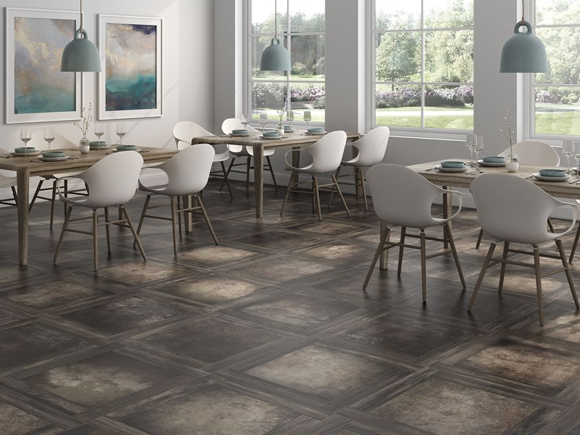 Porcelain wall/floor tiles with wood effect MAISON COTTO by ITT Ceramic