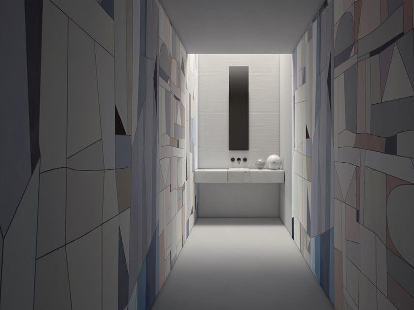 Geometric GlamFusion™ wallpaper MAKAI by GLAMORA