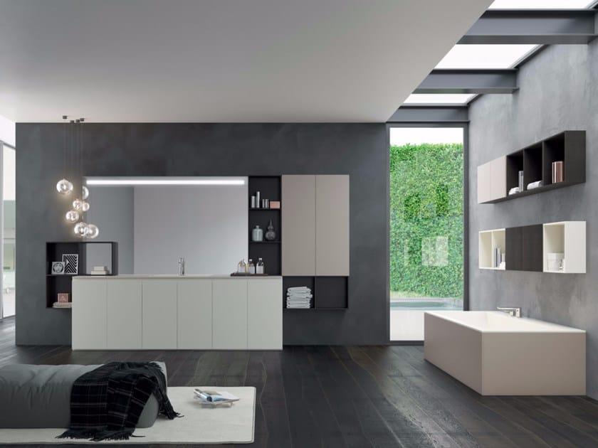 Bathroom cabinet / vanity unit MAKE 05 by LASA IDEA