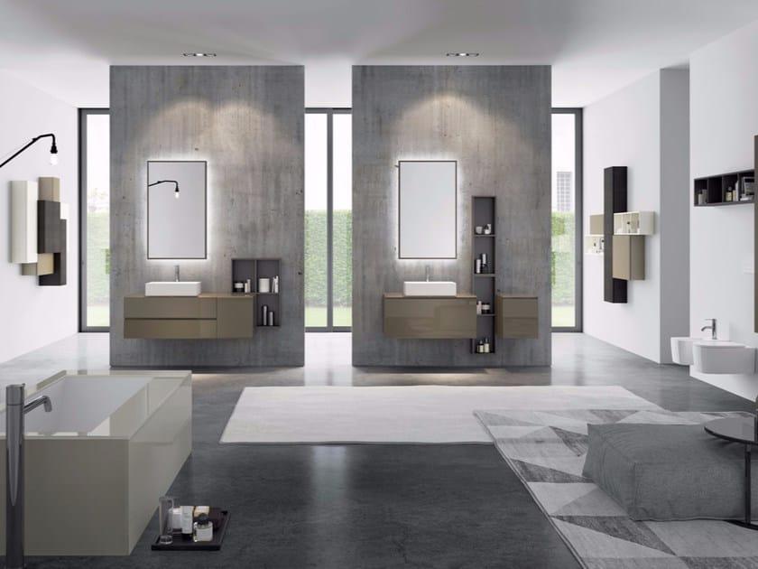 Sistema bagno componibile MAKE 11 by LASA IDEA