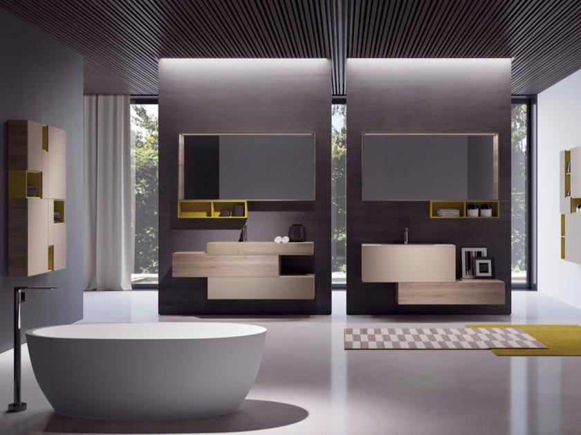 Sistema bagno componibile MAKE 12 by LASA IDEA