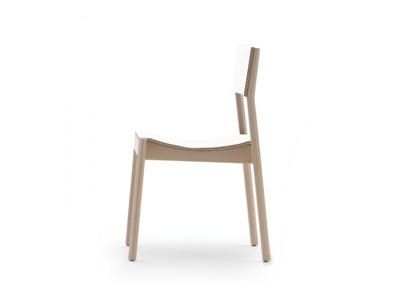 Stackable chair MAKI 03714 by Montbel