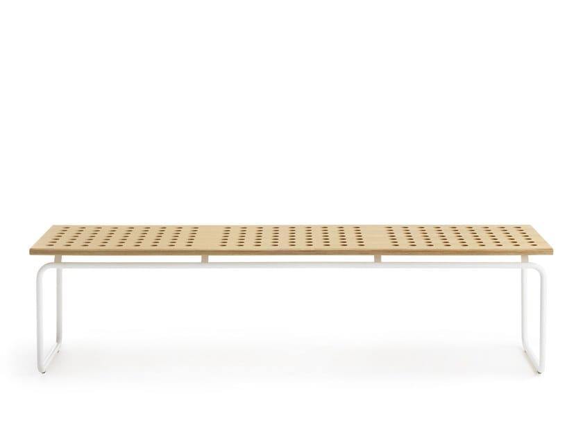 Modular HPL bench seating MAKI 180 | Bench seating by Crassevig