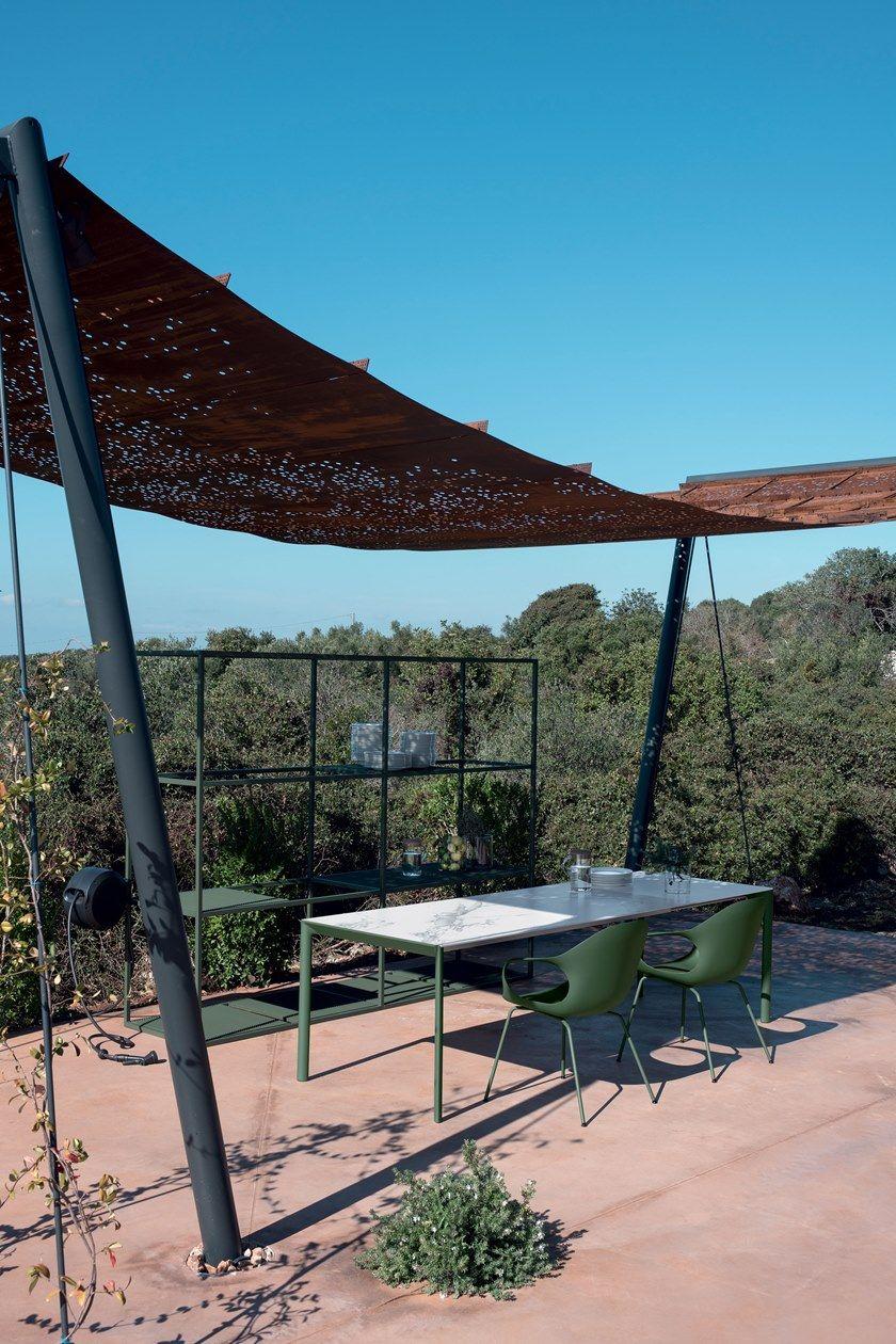 Allungabile Maki In Tavolo Dekton® Outdoor Giardino Rettangolare Kristalia Da eI2HYWED9b
