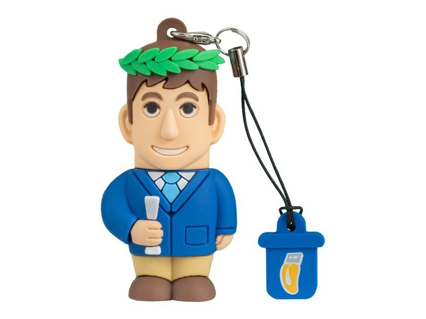 Pen Drive USB 8GB MALE GRADUATE by PROFESSIONAL USB