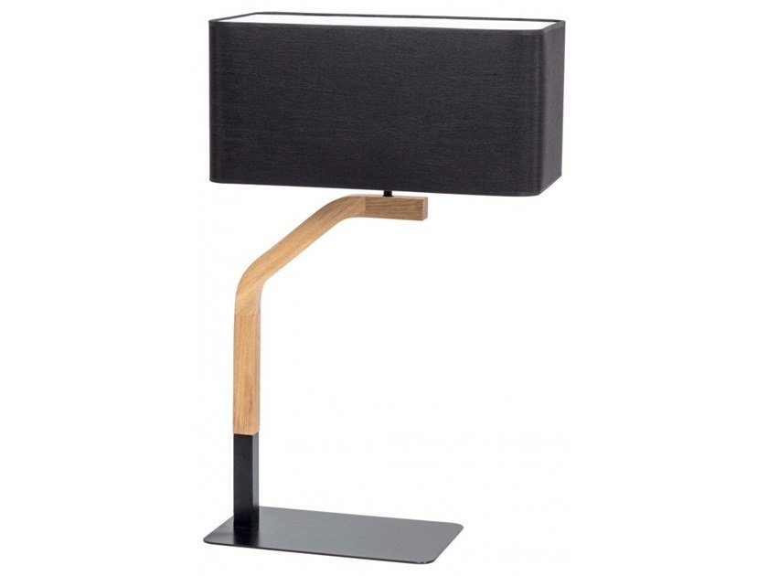 Wooden table lamp MALI | Table lamp by Flam & Luce