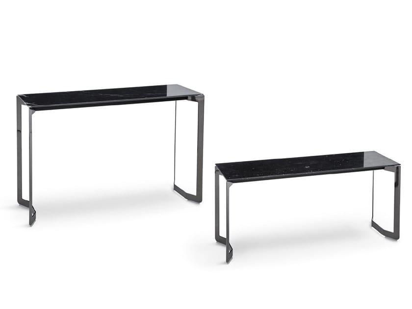 Consolle / tavolino in marmo MALIBU | Consolle in marmo by Dema