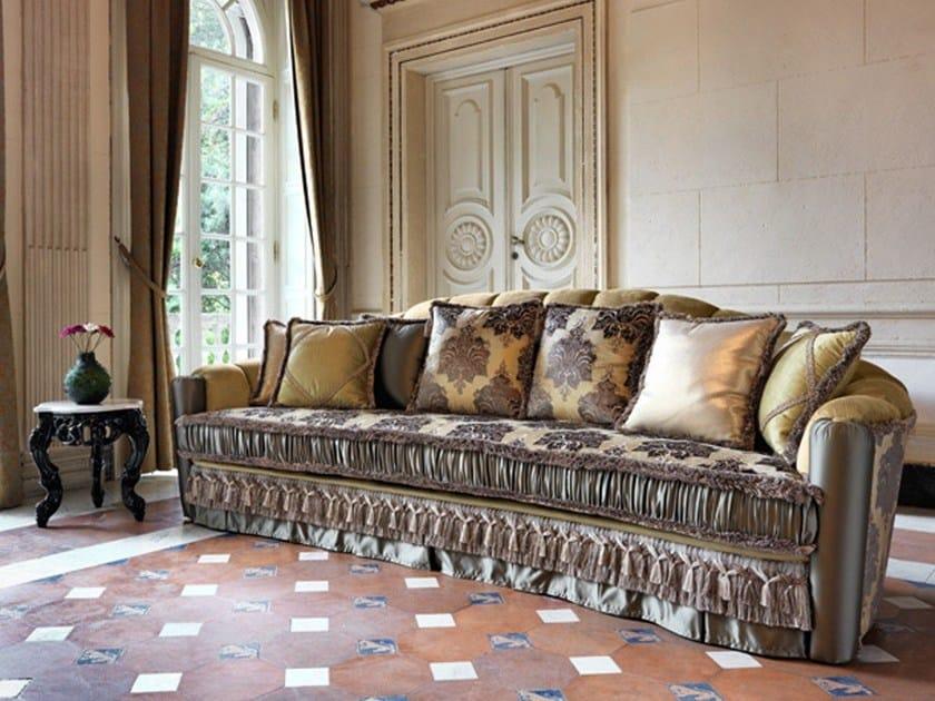 4 seater fabric sofa MALVINA CANNELLONI | 4 seater sofa by Domingo Salotti