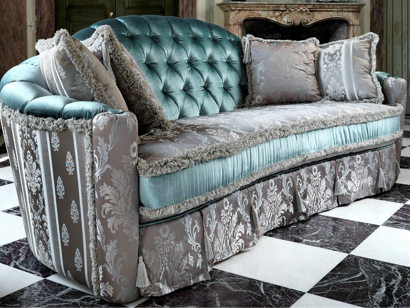 Tufted 3 seater sofa bed MALVINA CAPITONNÉ | 3 seater sofa by Domingo Salotti