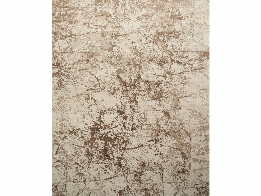 Patterned rug MAMI WATA ESK-411 Antique White/Natural by Jaipur Rugs