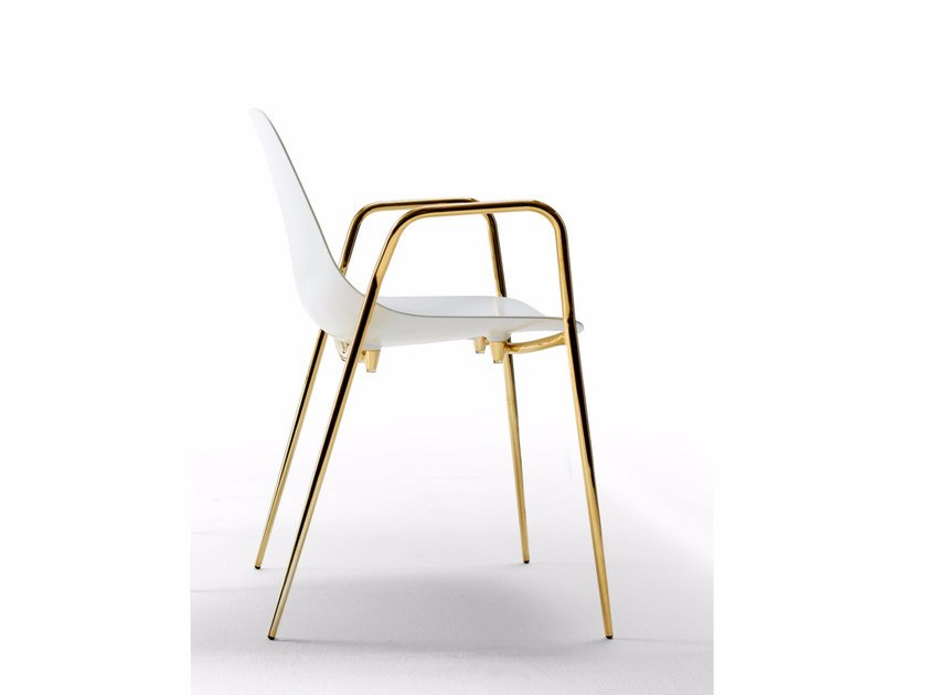 Aluminium chair with armrests MAMMAMIA 2016 EDITION | Chair with armrests by Opinion Ciatti