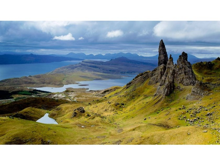 Stampa fotografica MAN OF STORR by Artphotolimited