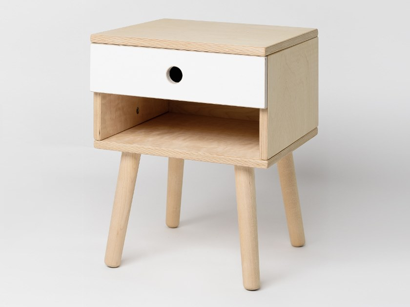 Bedside table with drawers MAN | Bedside table by Radis