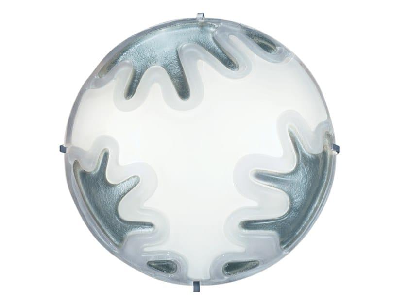 Lampada da parete / lampada da soffitto in vetro MANDALA MENDINI by KUNDALINI