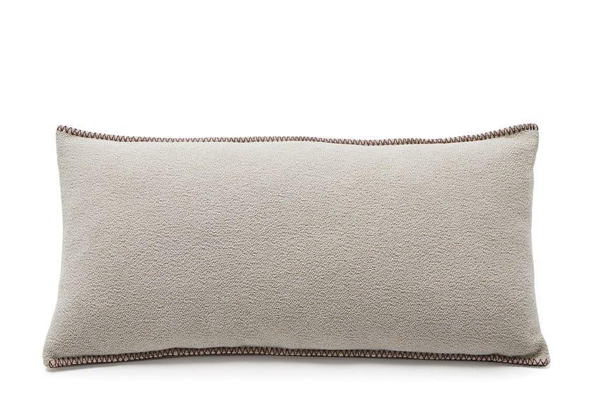 Rectangular goose feather cushion MANDARA   Rectangular cushion by Viccarbe
