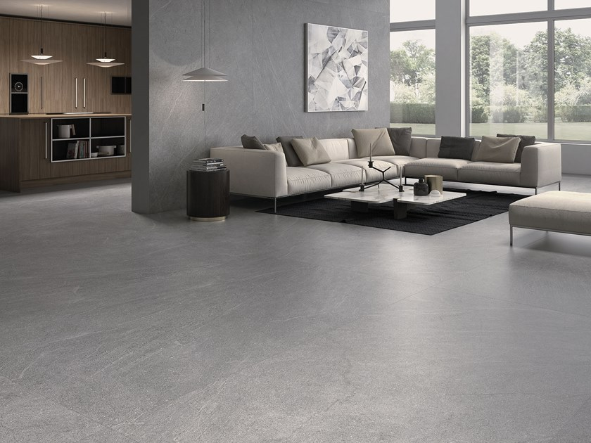 Sintered ceramic wall/floor tiles with stone effect MANHATTAN | Sintered ceramic wall/floor tiles by ITT Ceramic