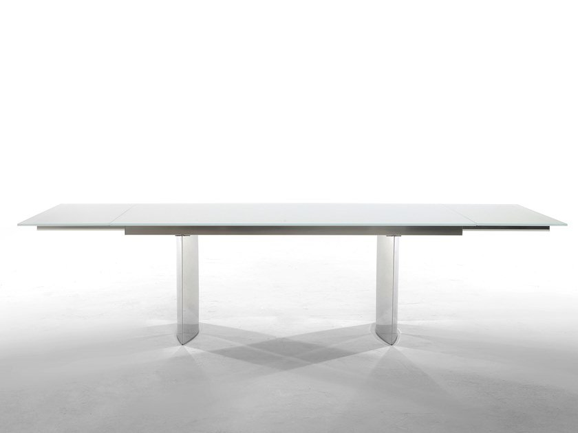 Extending rectangular table MANHATTAN by Tonin Casa