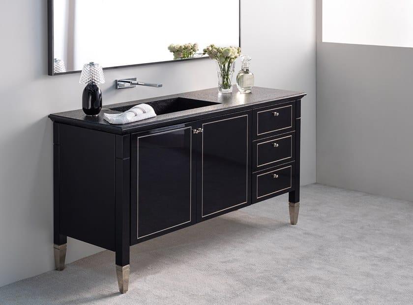 Floor-standing vanity unit MANHATTAN | Vanity unit by Ornare