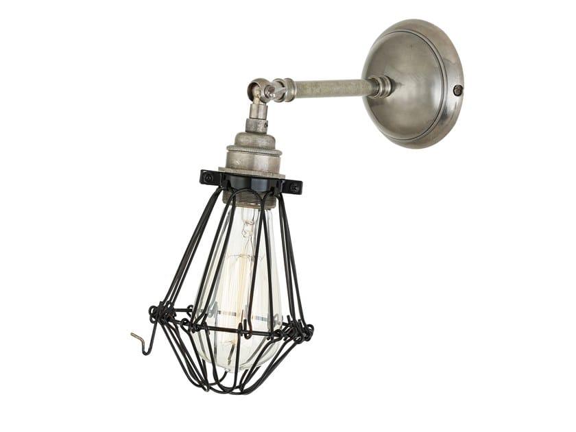 Handmade adjustable brass wall lamp MANN by Mullan Lighting