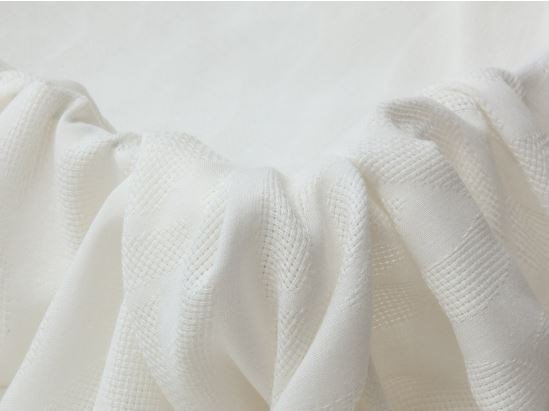 Solid-color fabric for curtains MANTUA by Equipo DRT