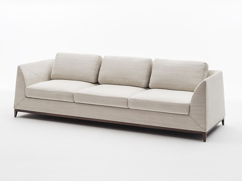 3 seater fabric sofa MANZONI | 3 seater sofa by OAK