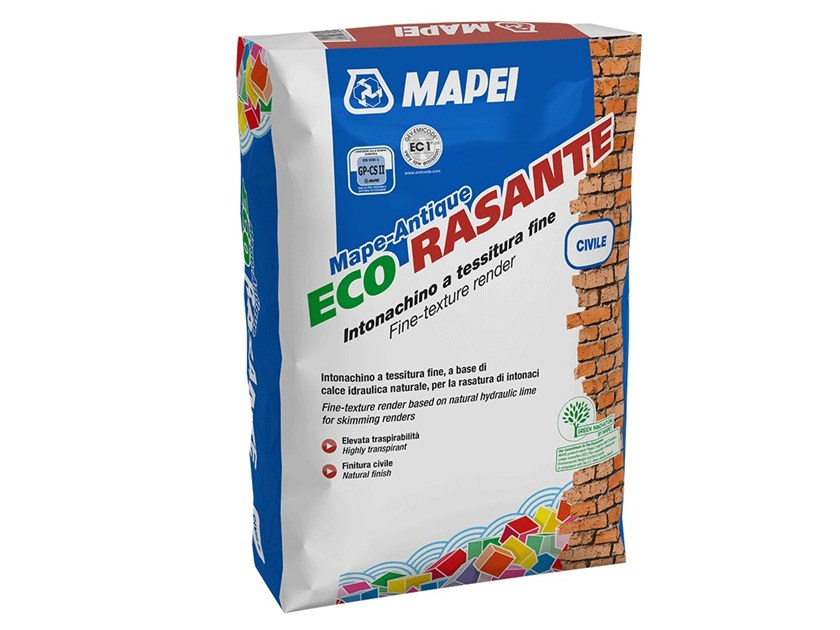 Smoothing compound MAPE-ANTIQUE ECO RASANTE CIVILE by MAPEI