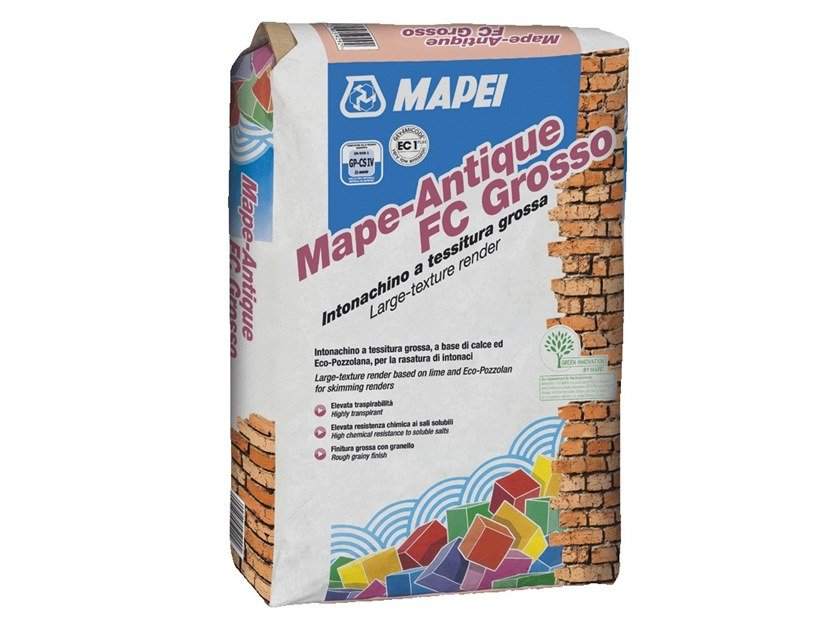 Smoothing compound MAPE-ANTIQUE FC GROSSO by MAPEI