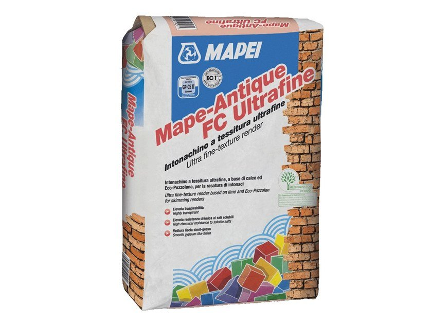Smoothing compound MAPE-ANTIQUE FC ULTRAFINE by MAPEI