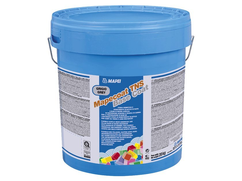 Base coat and impregnating compound for paint and varnish MAPECOAT TNS GREY BASE COAT by MAPEI