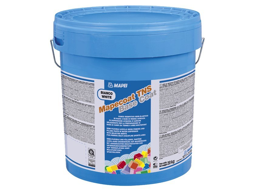 Base coat and impregnating compound for paint and varnish MAPECOAT TNS WHITE BASE COAT by MAPEI
