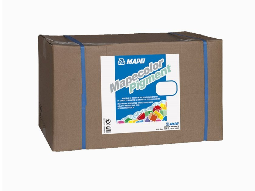 Additive for cement and concrete MAPECOLOR PIGMENT by MAPEI