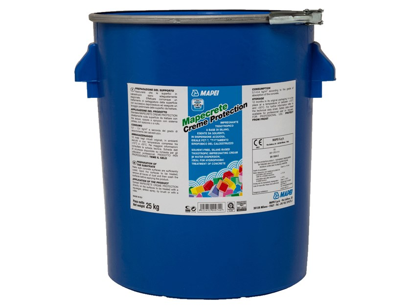 Surface water-repellent product MAPECRETE CREME PROTECTION by MAPEI