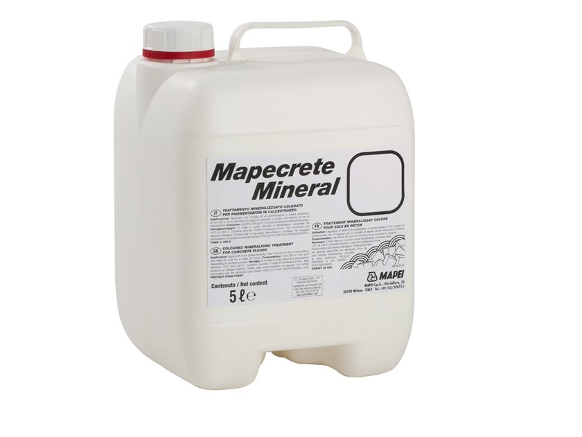 Surface protector for concrete MAPECRETE MINERAL by MAPEI