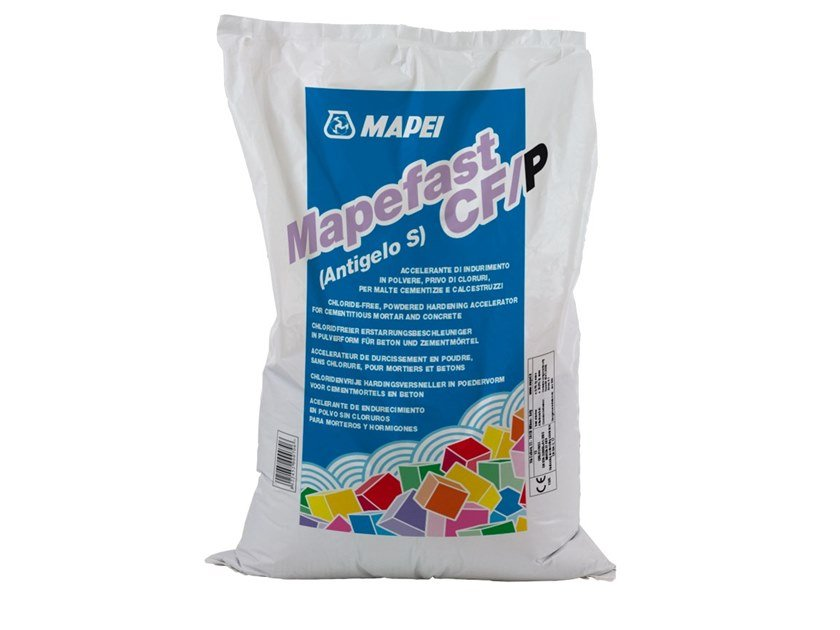 Additive for cement and concrete MAPEFAST CF/P by MAPEI