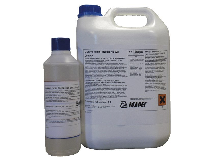 Flooring protection MAPEFLOOR FINISH 53 W/L by MAPEI