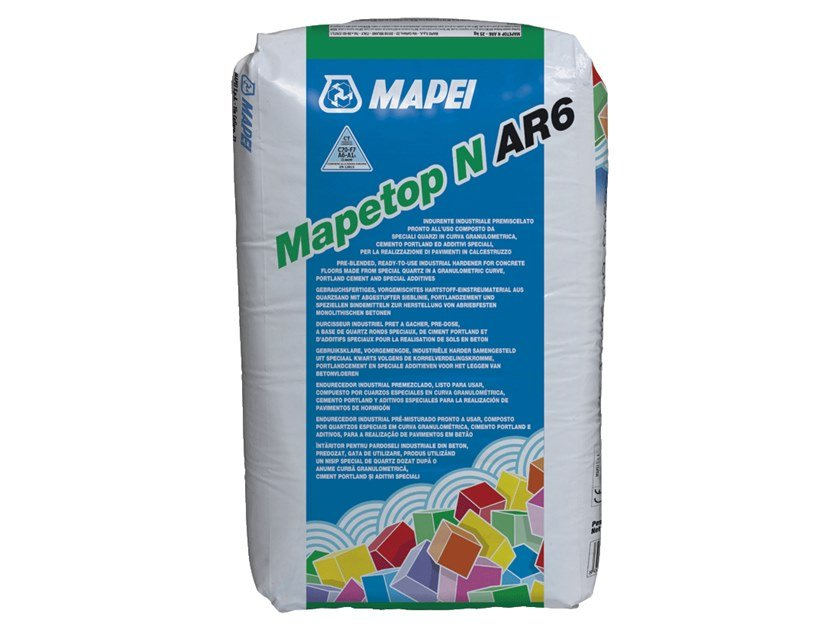 Additive for cement and concrete MAPETOP N AR6 by MAPEI