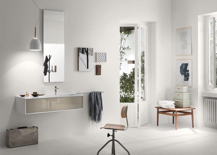 Sistema bagno componibile MAQ - Composizione 2 by INDA®