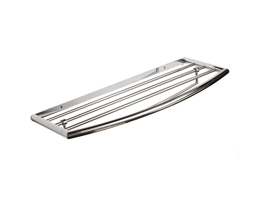 Chromed brass towel rack / bathroom wall shelf MAR 755110002 by pomd'or