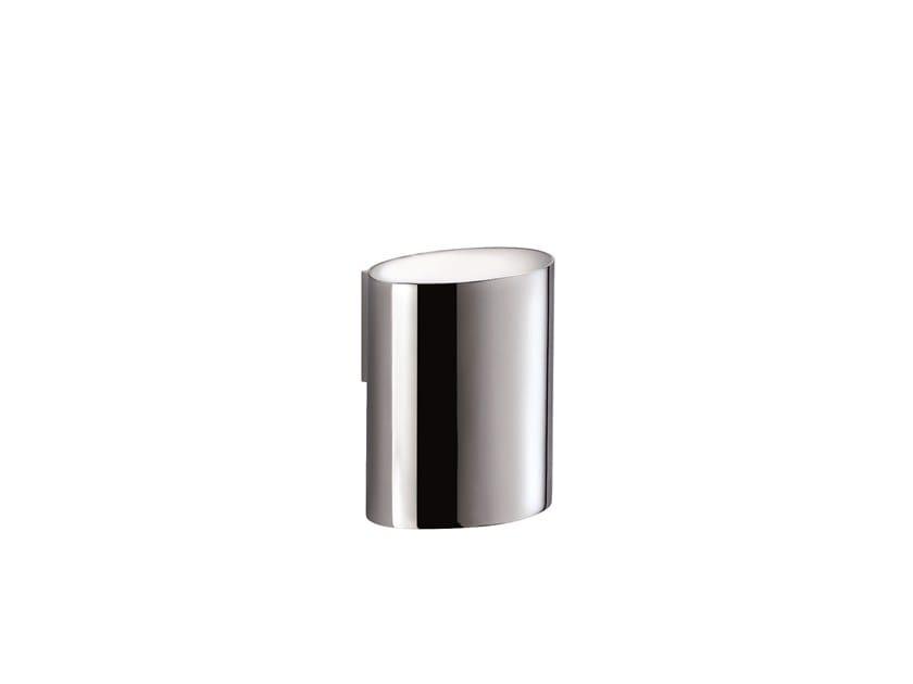Wall-mounted chromed brass toothbrush holder MAR 757050002 | Wall-mounted toothbrush holder by pomd'or