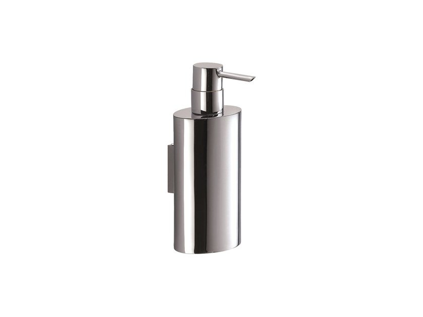 Wall-mounted chromed brass liquid soap dispenser MAR 757801002 | Wall-mounted liquid soap dispenser by pomd'or