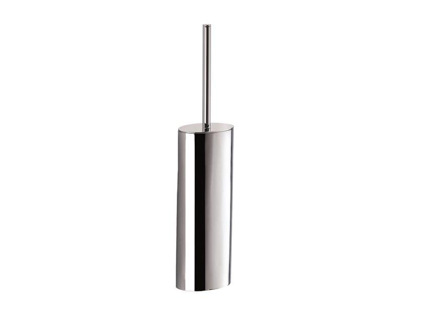 Chromed brass toilet brush MAR 759050002   Toilet brush by pomd'or