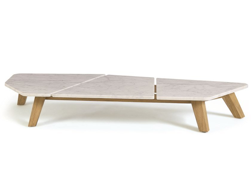 Marble garden side table RAFAEL | Marble coffee table by Ethimo
